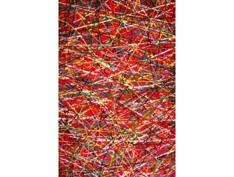 Covor Kolibri Rosu Dreptunghi - 11035/120