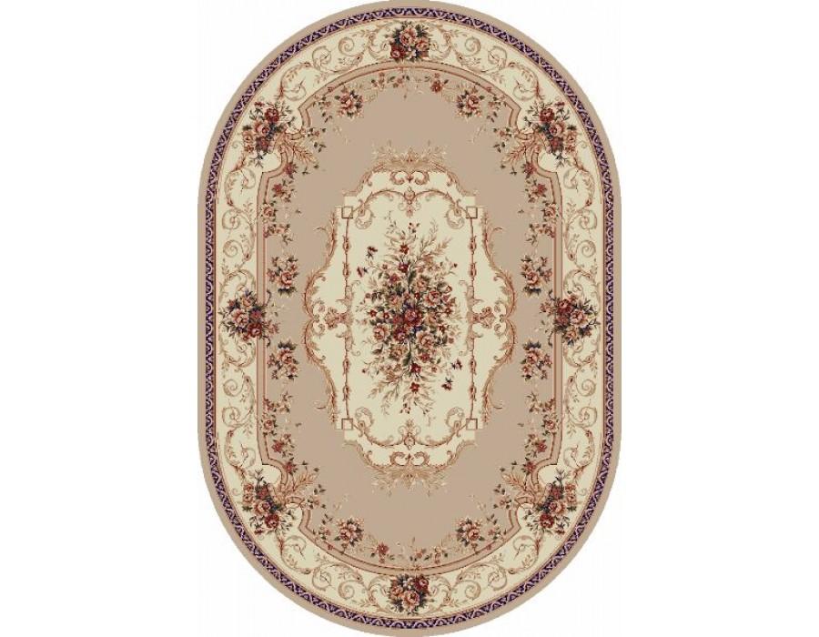 Covor Lotus Crem Oval - 507/100